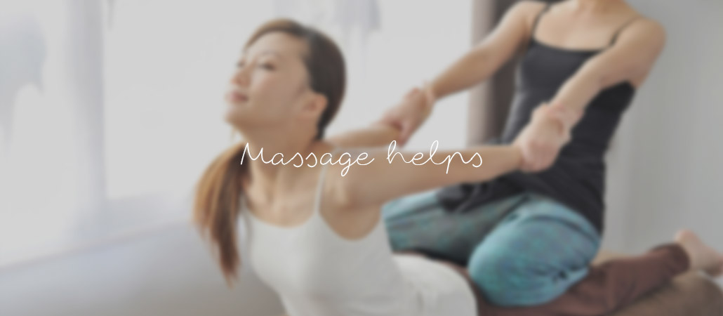 massage could help